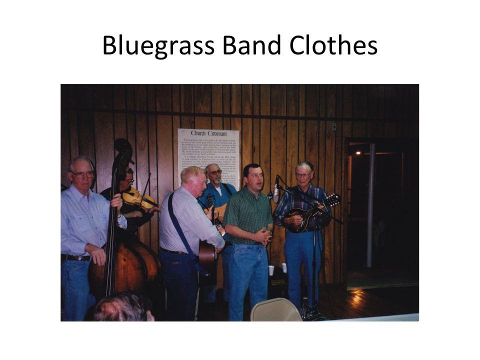 Bluegrass Band Clothes