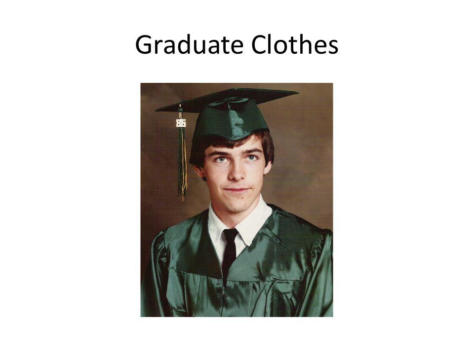 Graduate Clothes