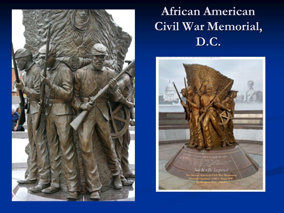 African American Civil War Memorial, D.C.