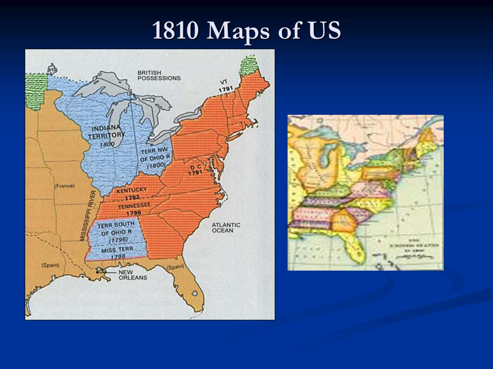 1810 Maps of US