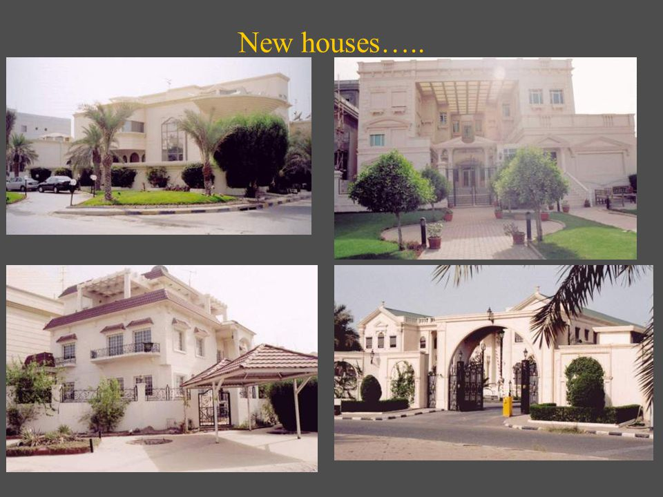 New houses…..