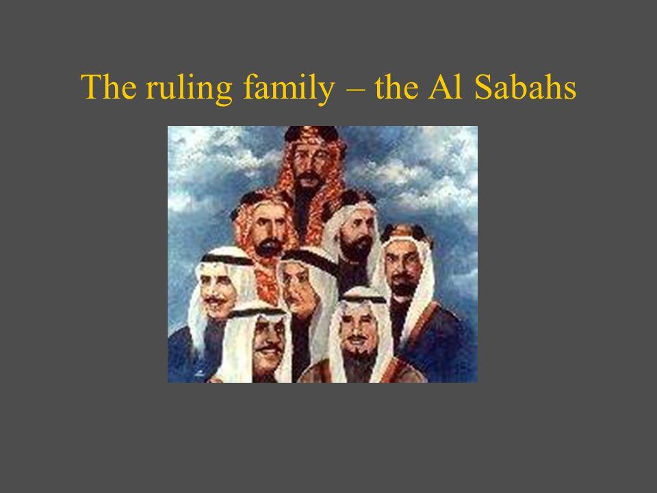 The ruling family – the Al Sabahs