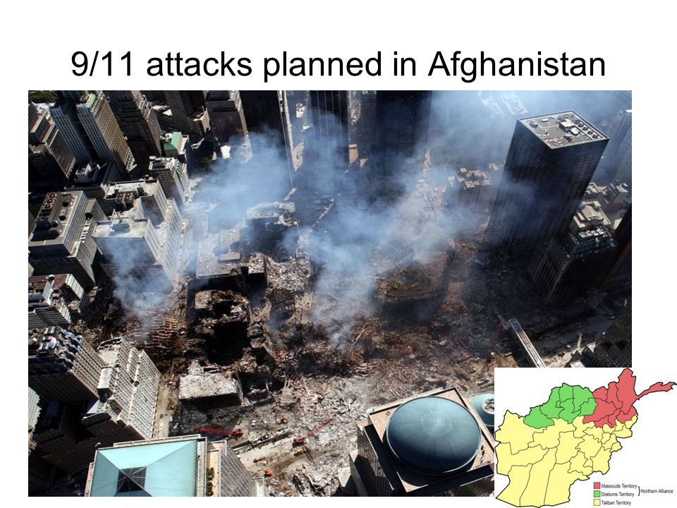 9/11 attacks planned in Afghanistan
