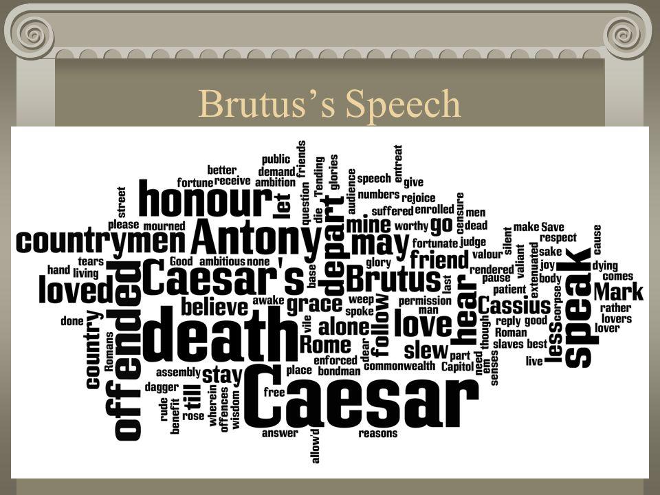 Brutus's Speech