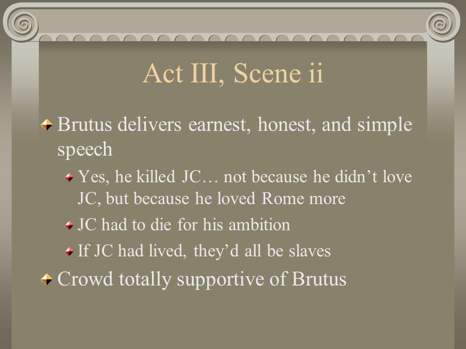 Antony's Speech