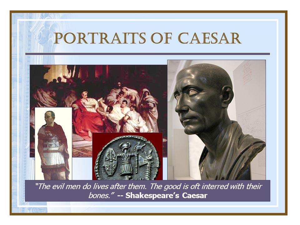 III.Caesar Takes Power A.