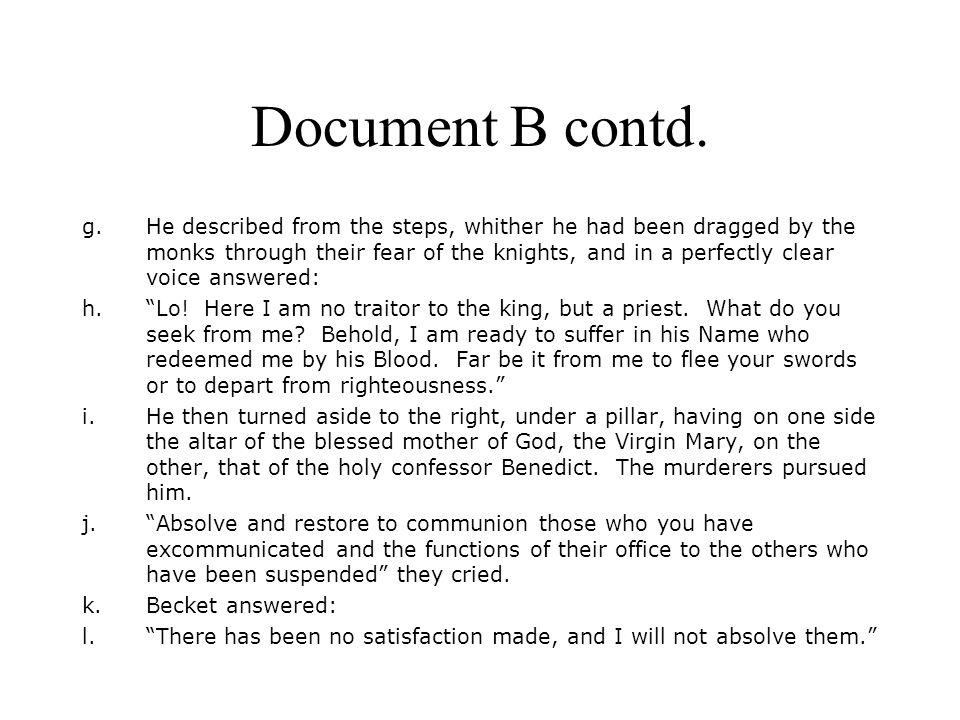 Document B contd.