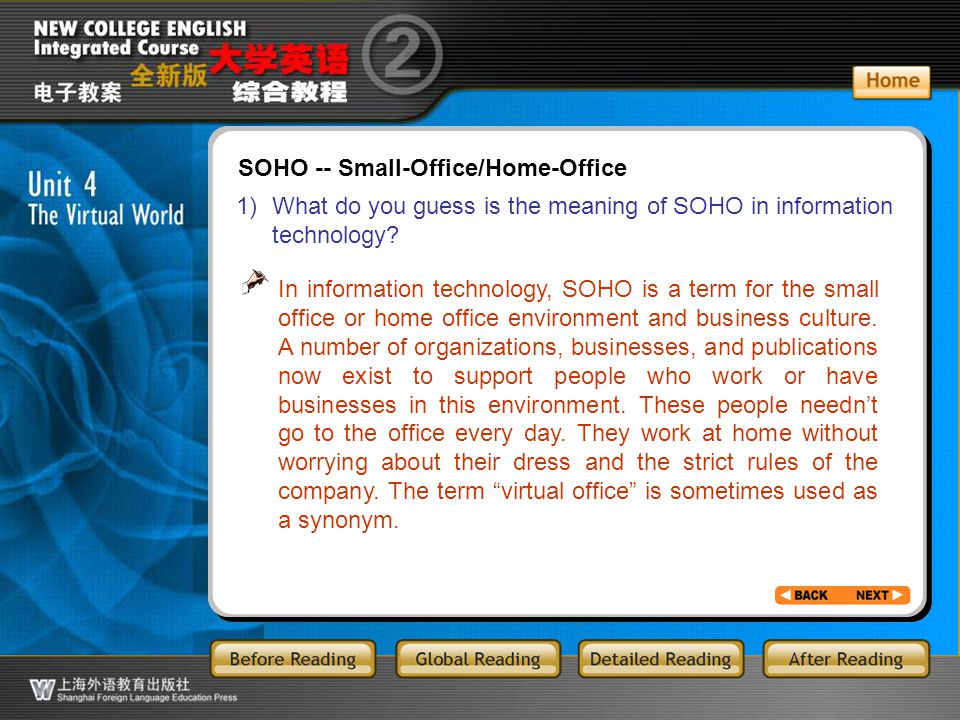BR3.22 2) What kind of people do you think belong to the group of SOHO.