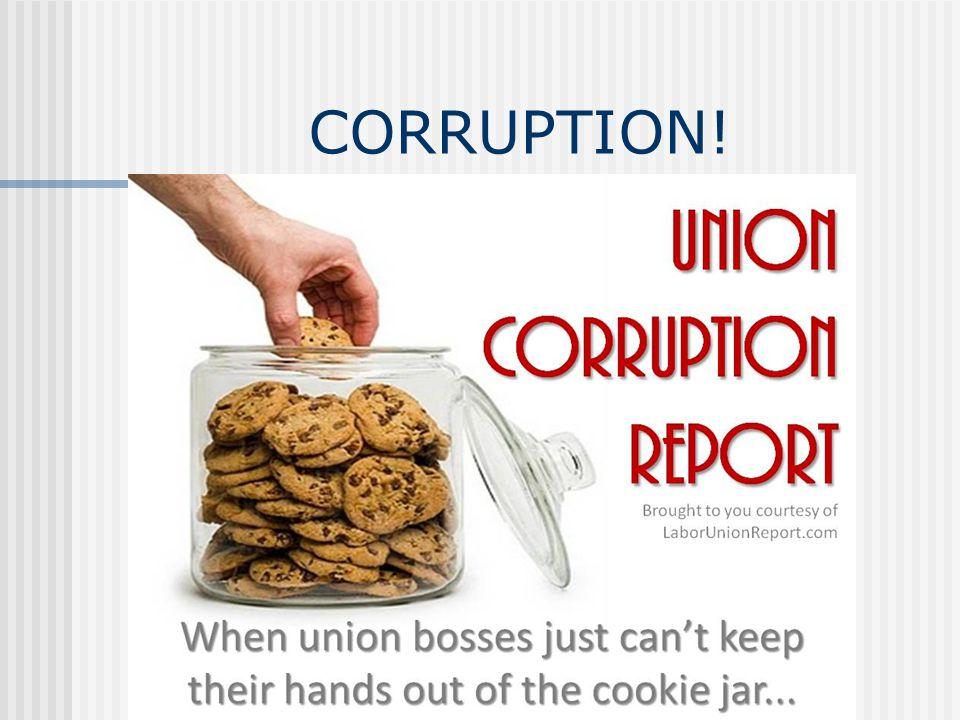 CORRUPTION!