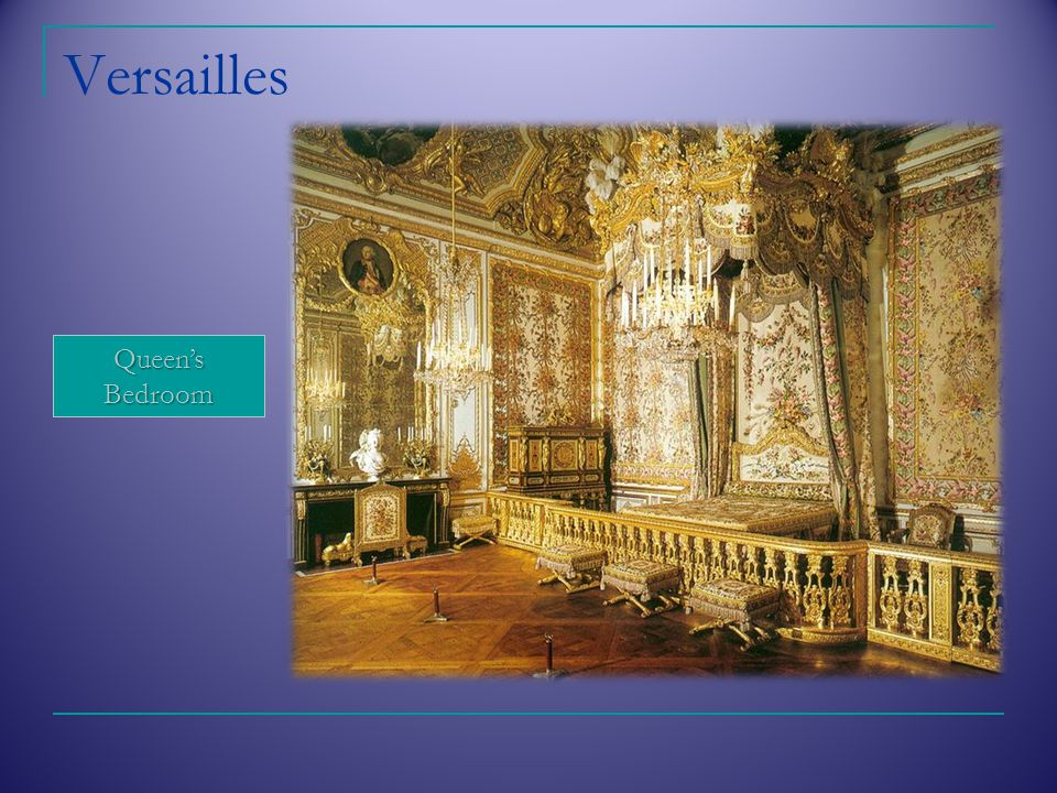 Versailles Queen's Bedroom