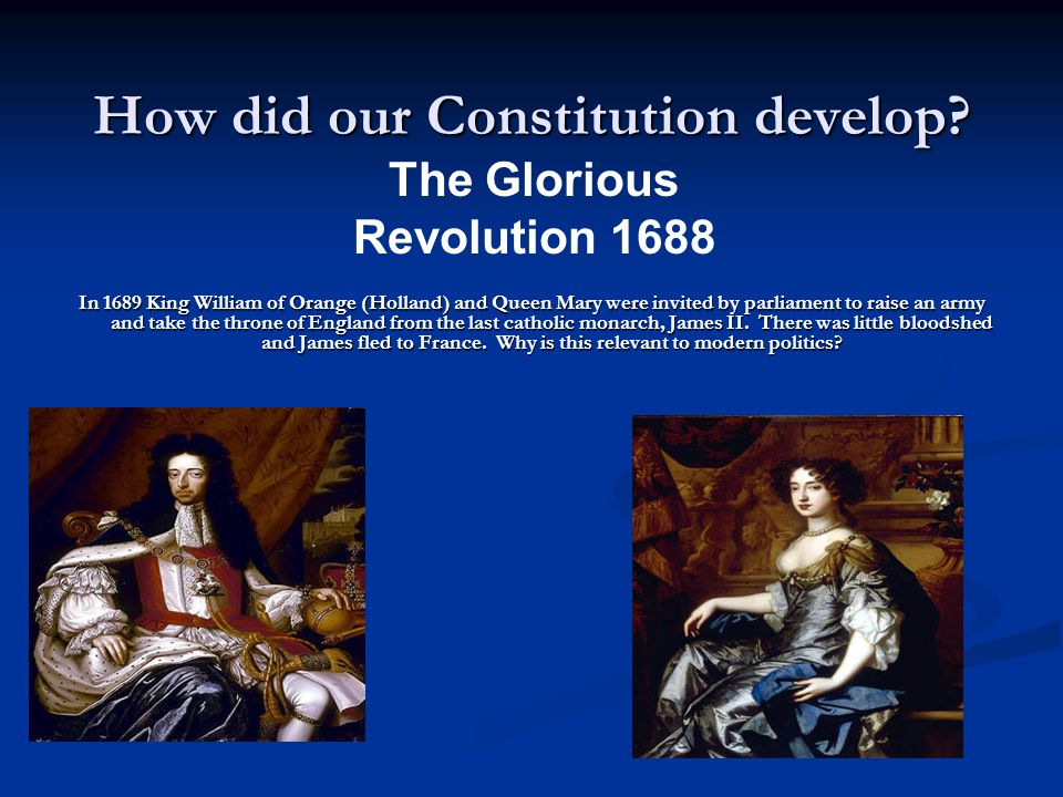 The Constitution A brief History