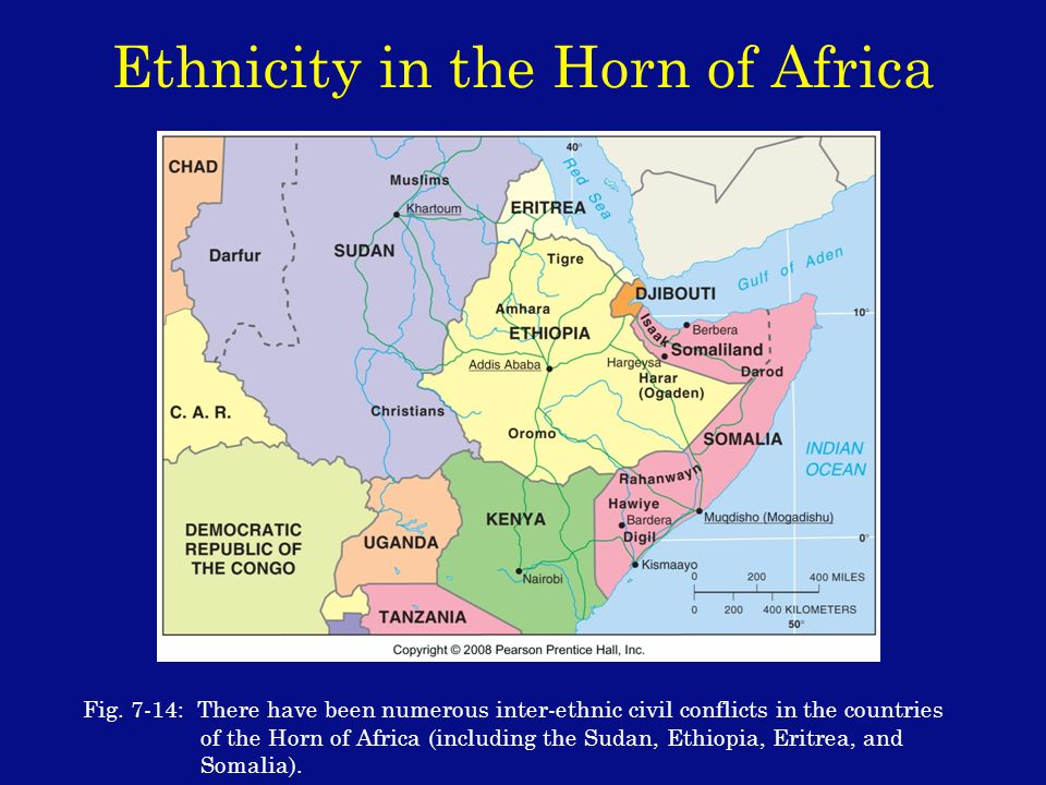 Ethnicity in the Horn of Africa Fig.