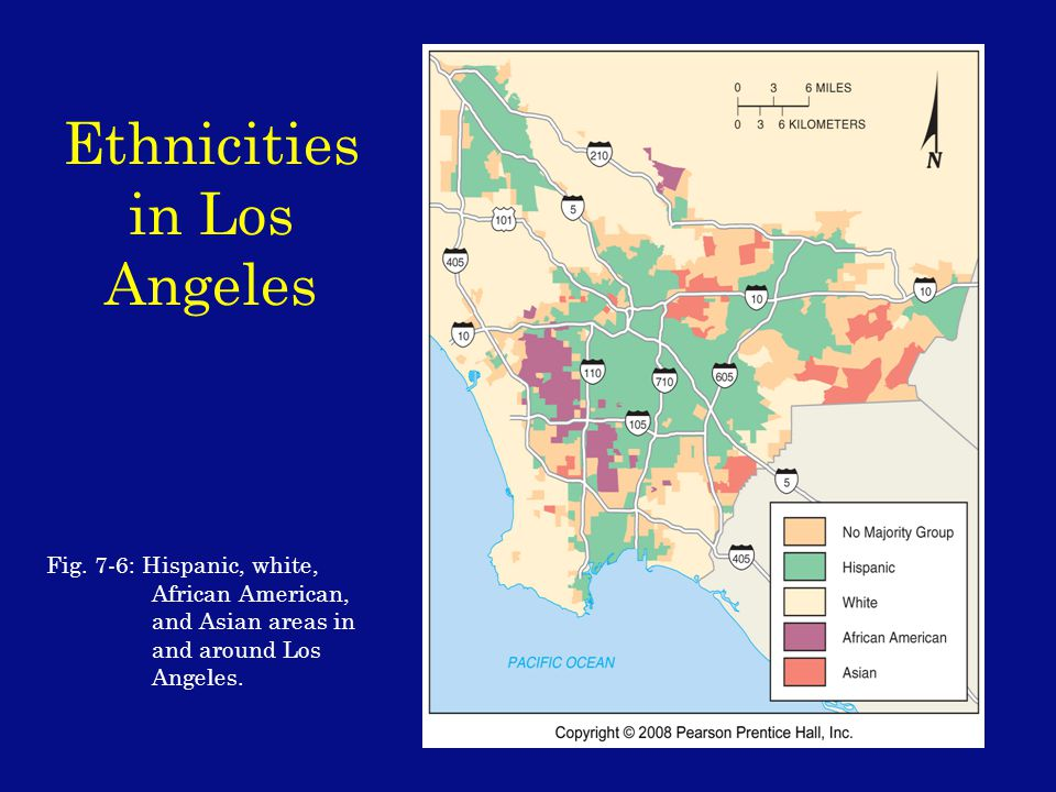 Ethnicities in Los Angeles Fig.