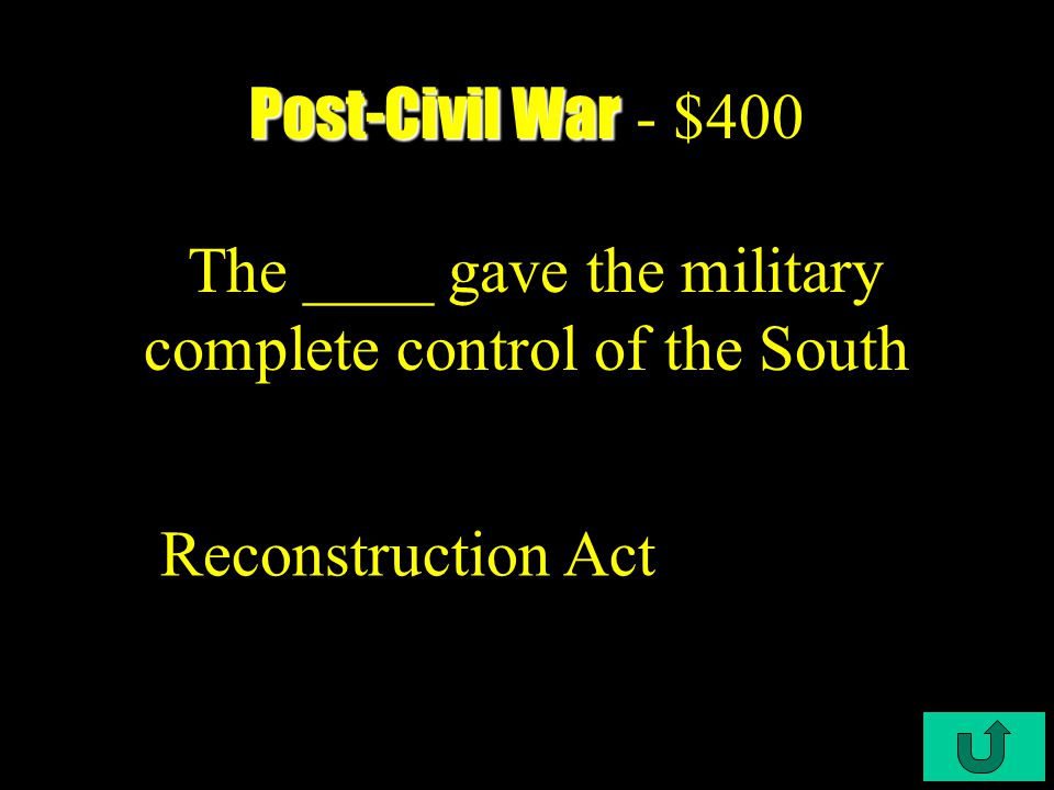 C4-$300 Post-Civil War Post-Civil War - $300 This was passed in 1866 to confer citizenship on blacks.