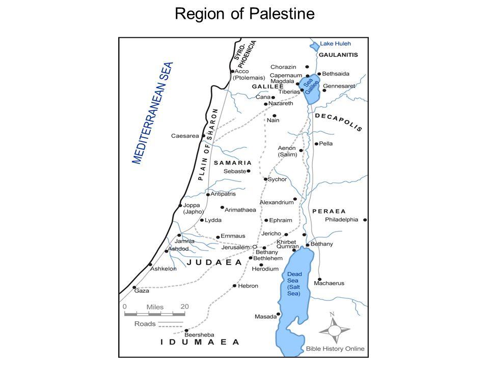 Region of Palestine