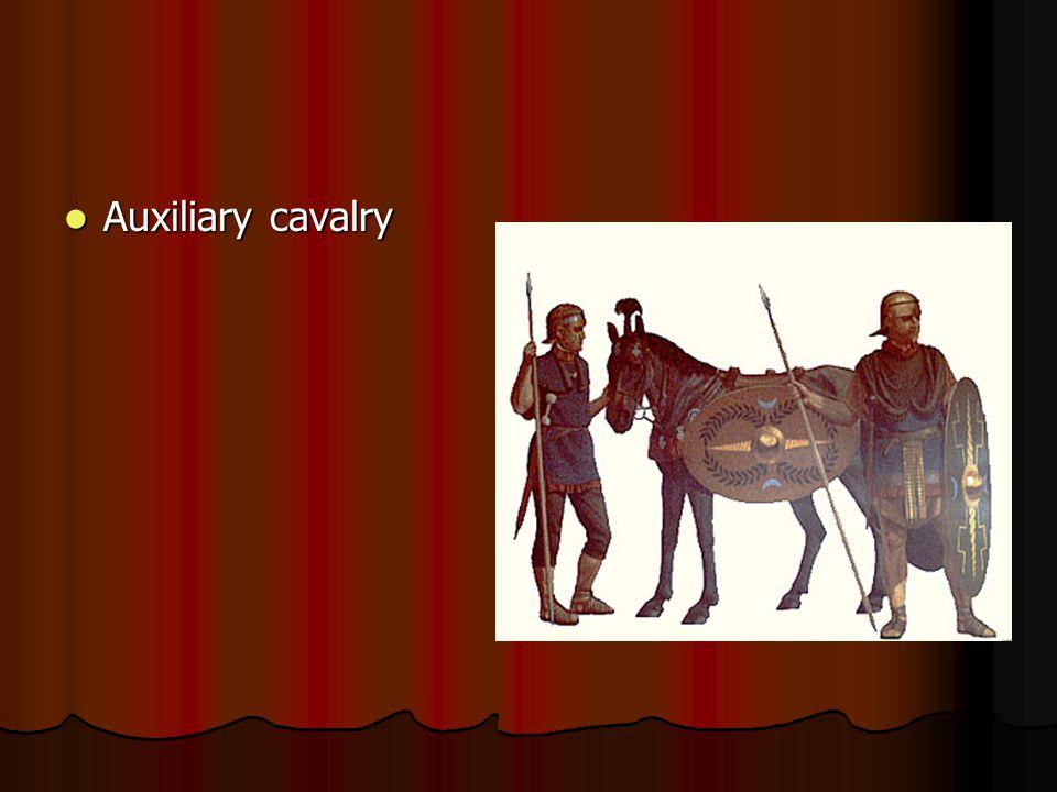 Auxiliary cavalry Auxiliary cavalry