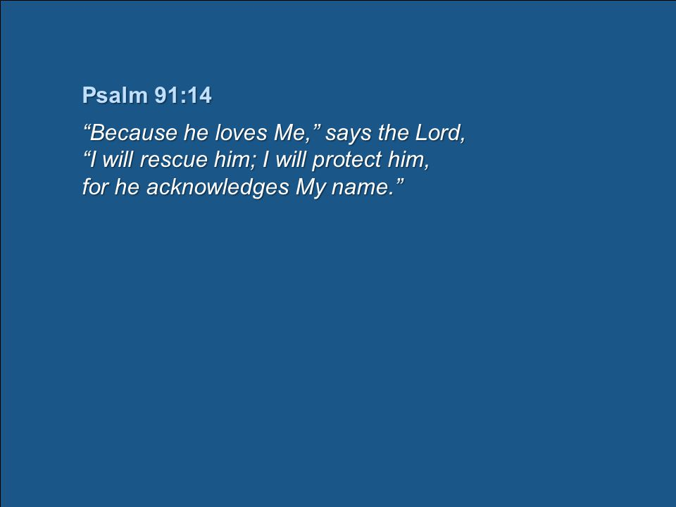 PSALM 3:1~8 PSALM 3:1~8 (NIV) A psalm of David.
