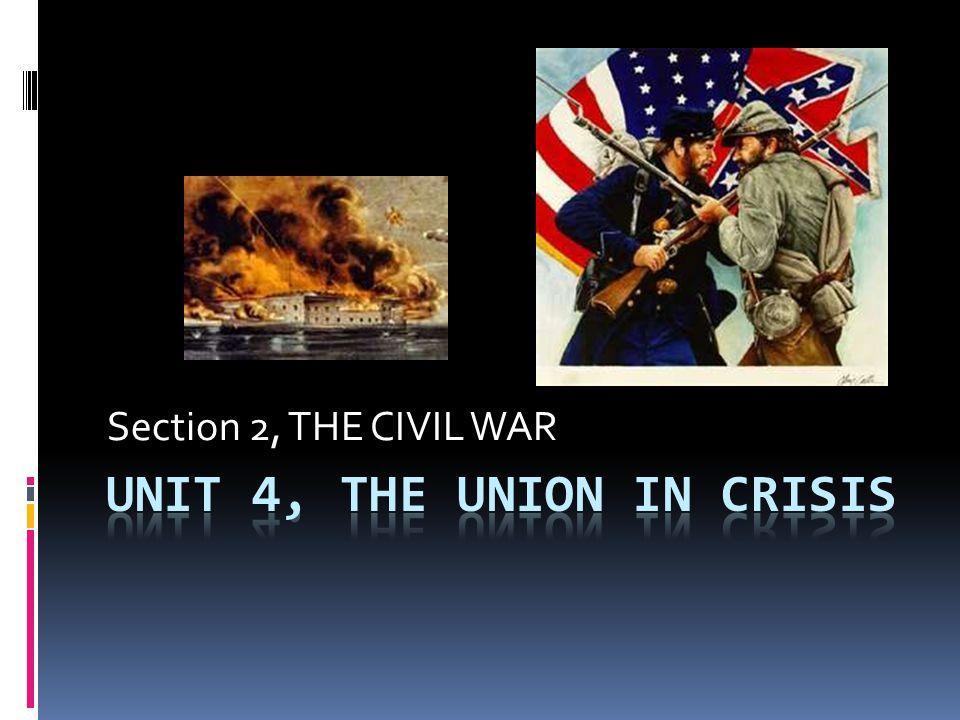 Names? CIVIL WAR WAR BETWEEN THE STATES