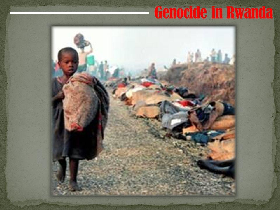Two major ethnic groups in Rwanda Tutsis- minority (1/7 of population) Tutsis are in charge under Belgian rule.