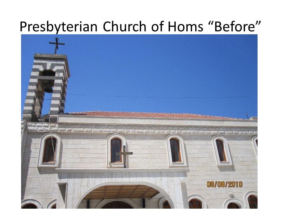 Presbyterian Church of Homs Before