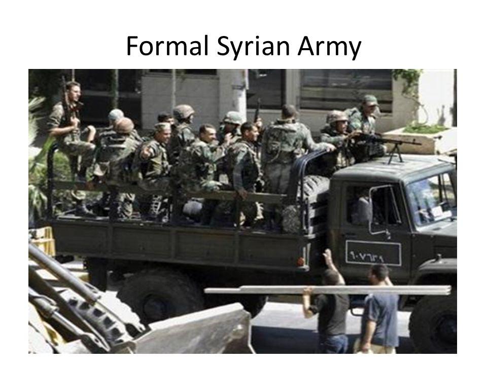 Formal Syrian Army