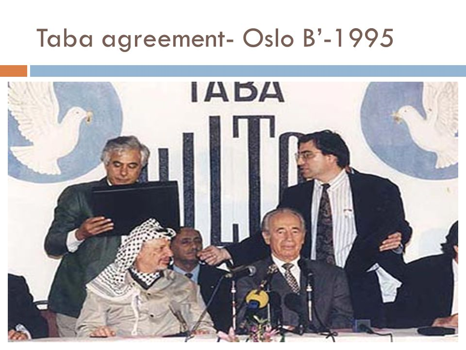 Taba agreement- Oslo B'-1995