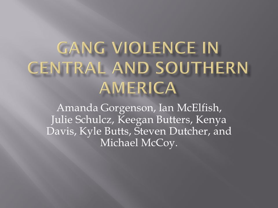 Amanda Gorgenson, Ian McElfish, Julie Schulcz, Keegan Butters, Kenya Davis, Kyle Butts, Steven Dutcher, and Michael McCoy.