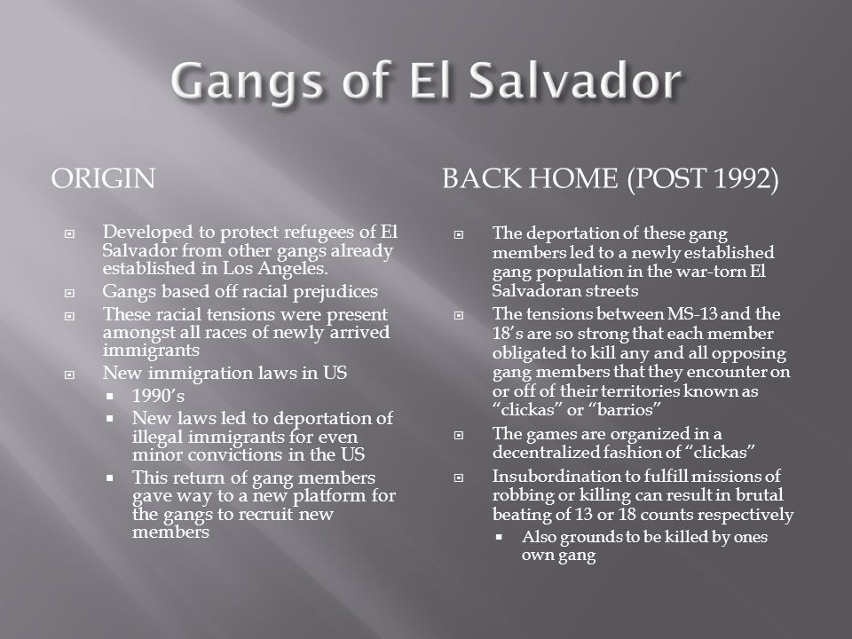  Estimates cite that there are anywhere from 8,000 to 14,000 gang members throughout the country.