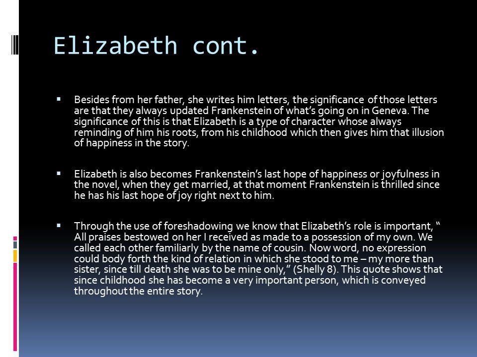 Elizabeth cont.