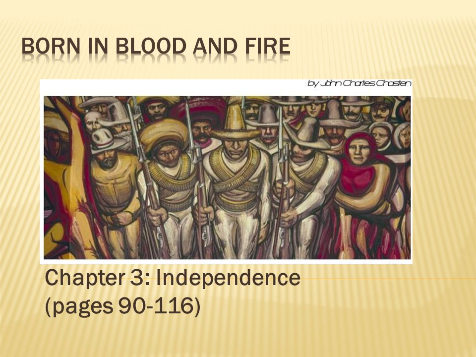 Chapter 3: Independence (pages 90-116)