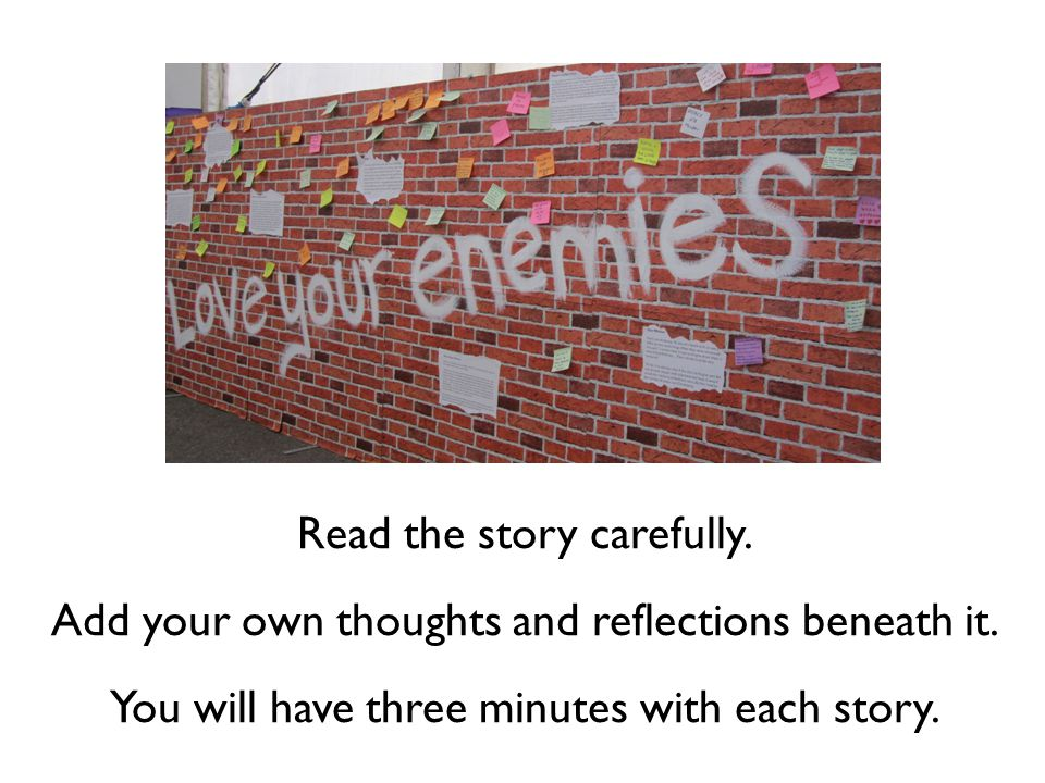Look back at your thoughts on these passages at the start of the lesson.