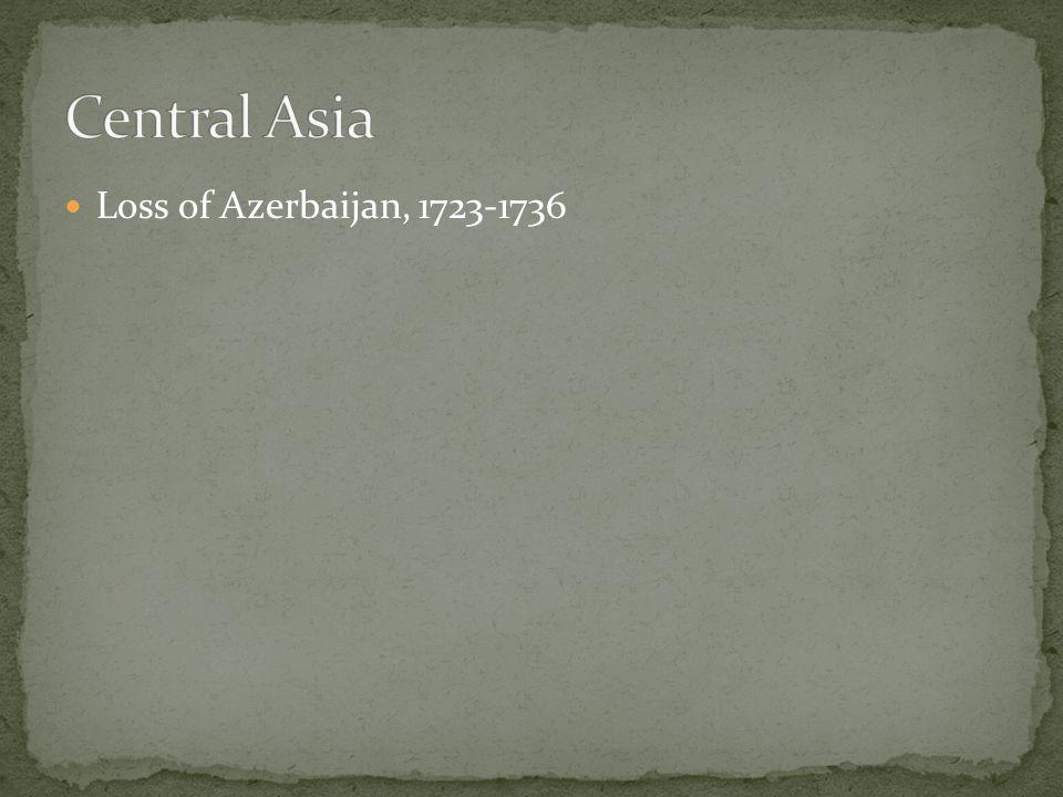 Loss of Azerbaijan, 1723-1736
