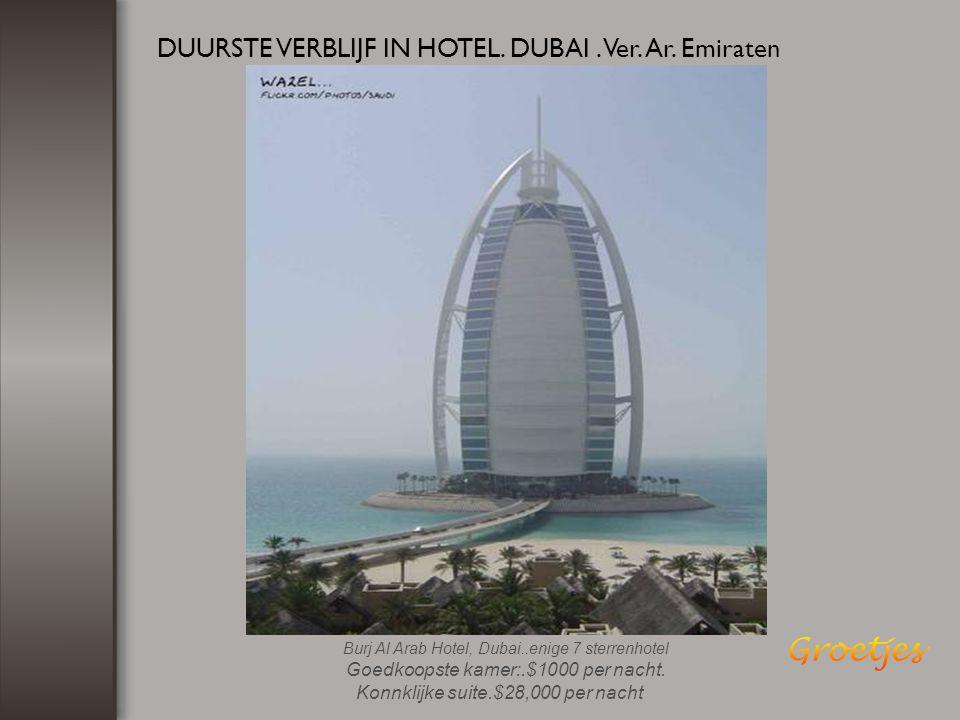 HOOGSTE GEBOUW TER WERELD... DUBAI