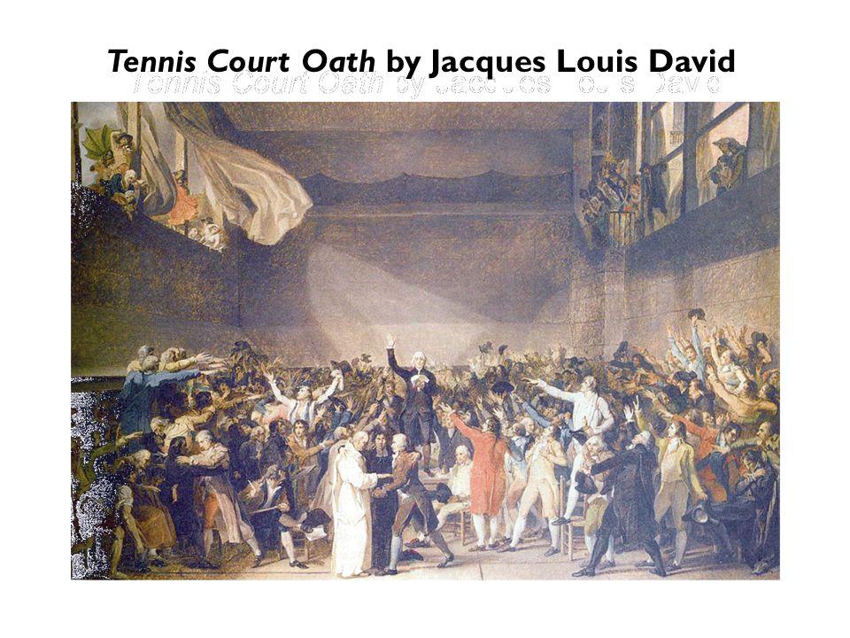 Tennis Court Oath by Jacques Louis David