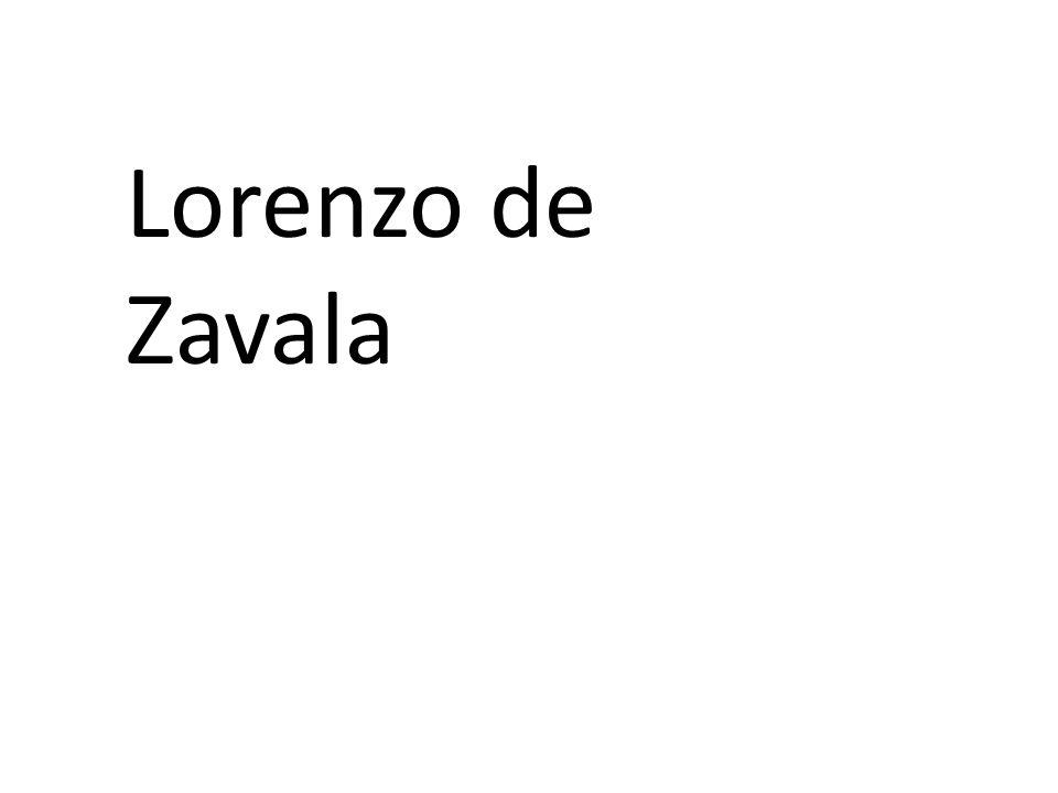 Lorenzo de Zavala