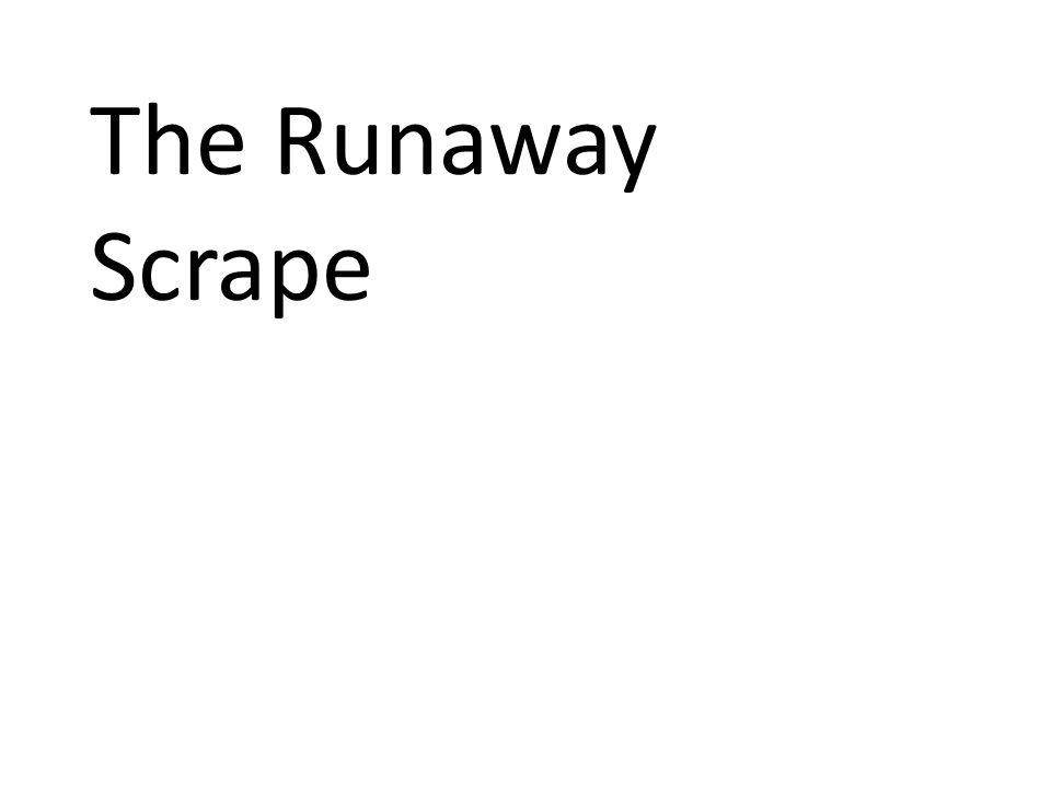 The Runaway Scrape