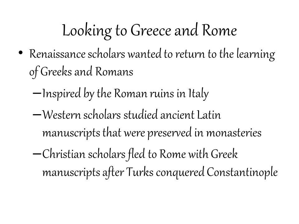 Renaissance scholar