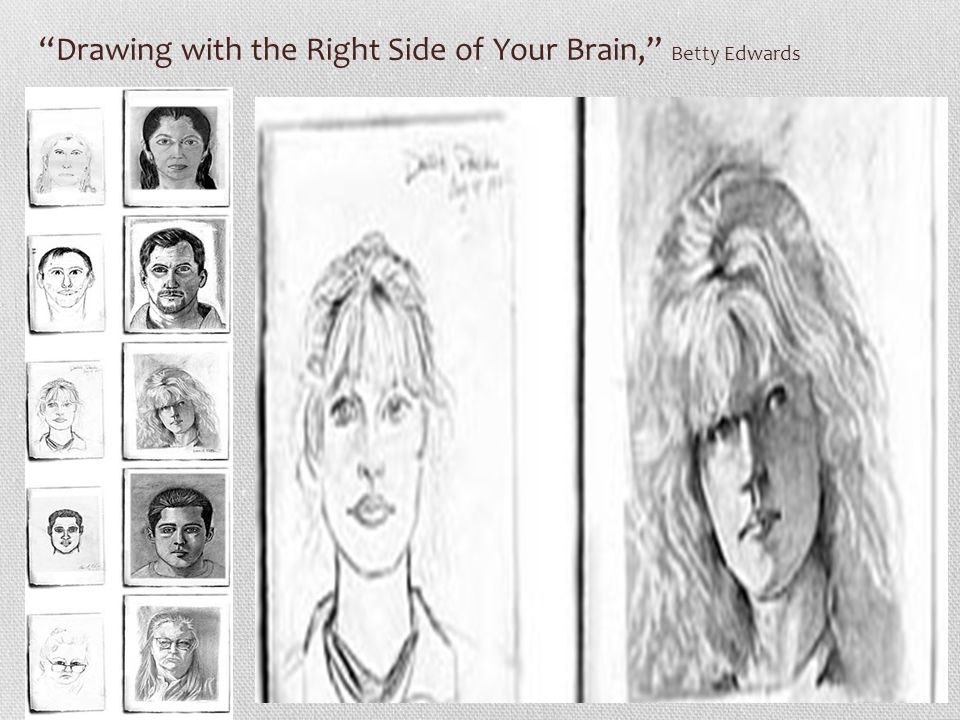 """""""Drawing with the Right Side of Your Brain,"""" Betty Edwards"""