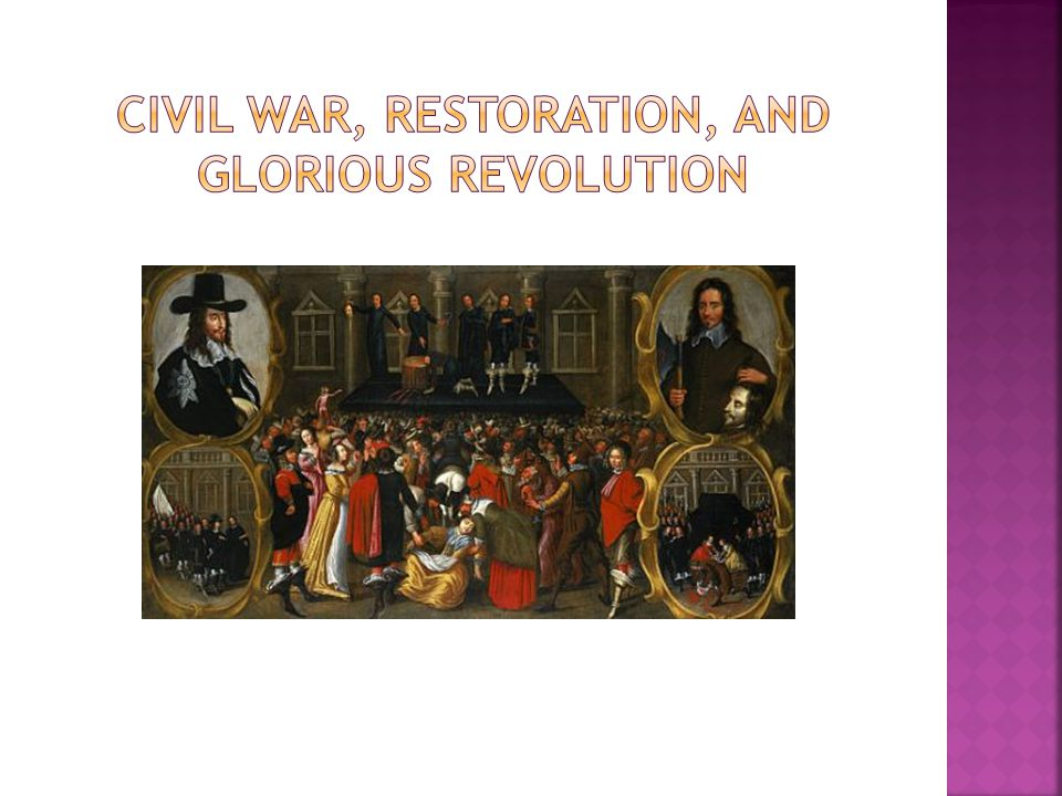 Edward Hyde, later Lord Clarendon, a parliamentarian turned royalist, believed the English Civil War was the last great rebellion ; historian C.V.