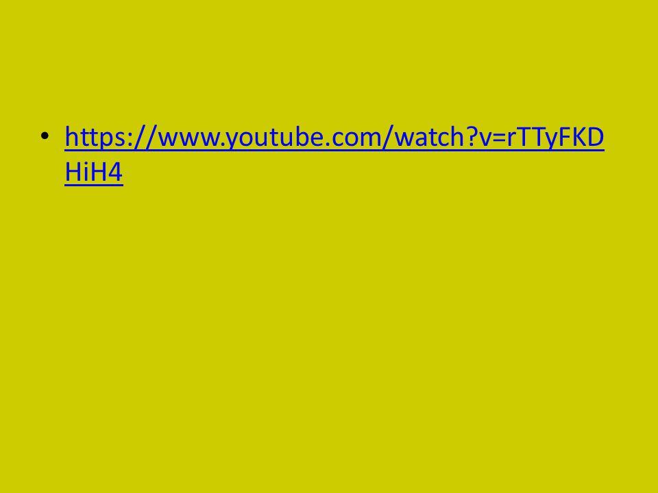 https://www.youtube.com/watch?v=rTTyFKD HiH4 https://www.youtube.com/watch?v=rTTyFKD HiH4
