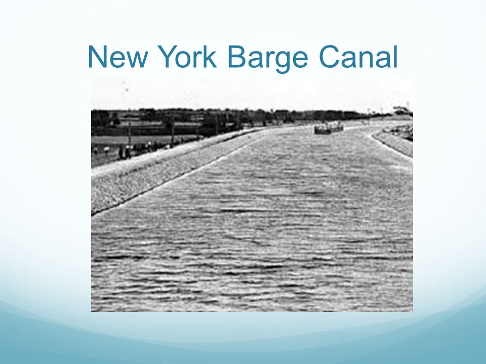 New York Barge Canal