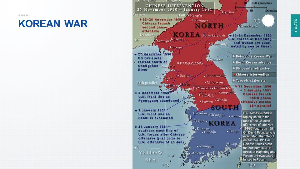 PAGE 8 KOREAN WAR