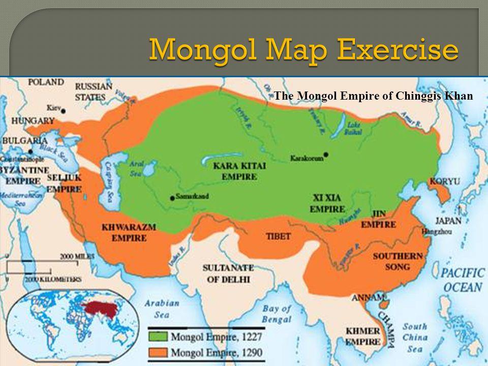 The Mongol Empire of Chinggis Khan