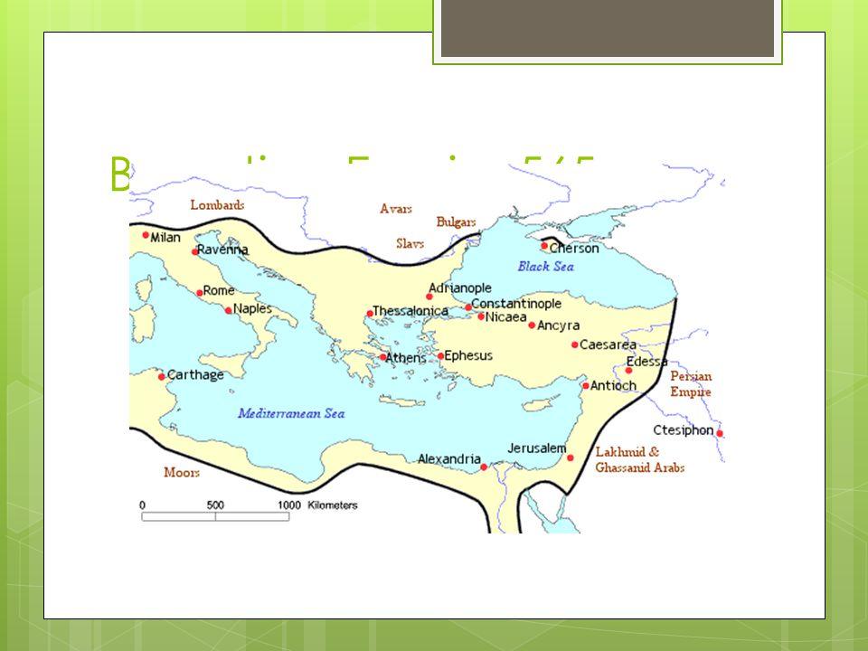 Byzantine Empire 565