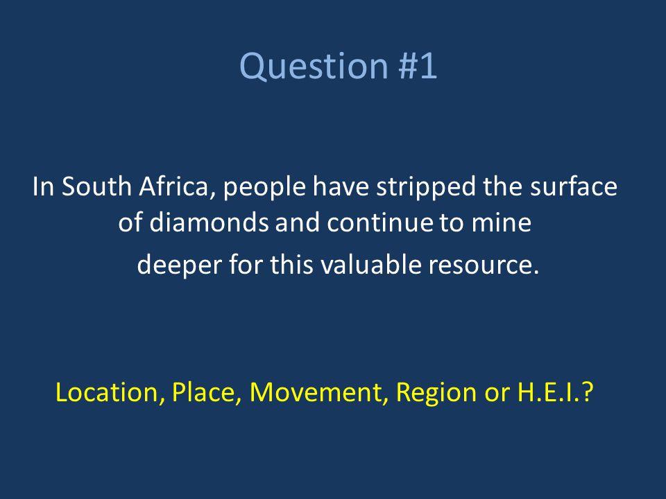 Question #2 A G.P.S.