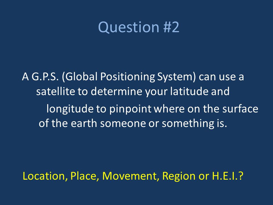 Question #3 Most countries near the poles have an arctic climate and are frozen nearly all year round.
