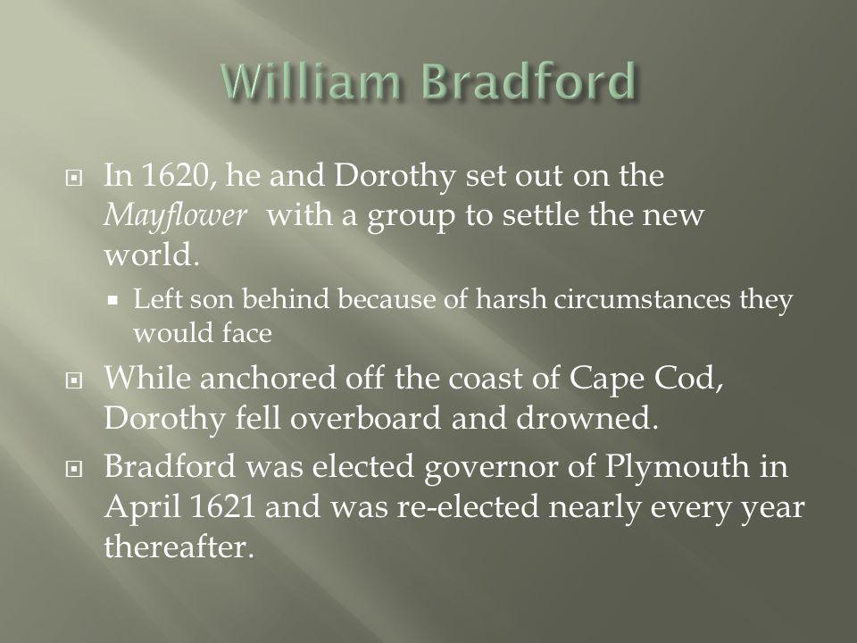  Representation is the key term in understanding Bradford's literary method.