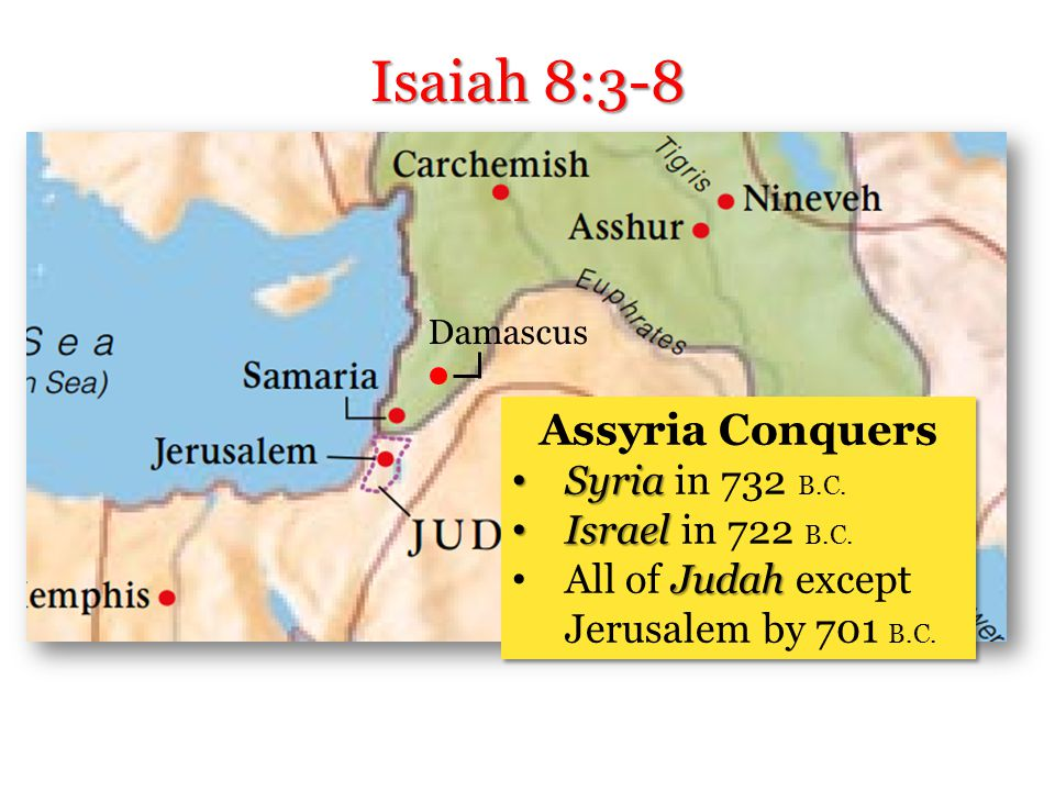 Another Child Isaiah 8:3-8
