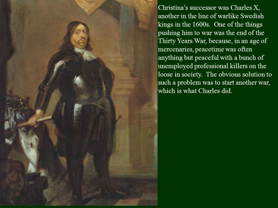The Northern War (1655-60) The Northern War (1655-60) was typical of the problems Frederick-William faced in the late 1600's. In a sense, it started w