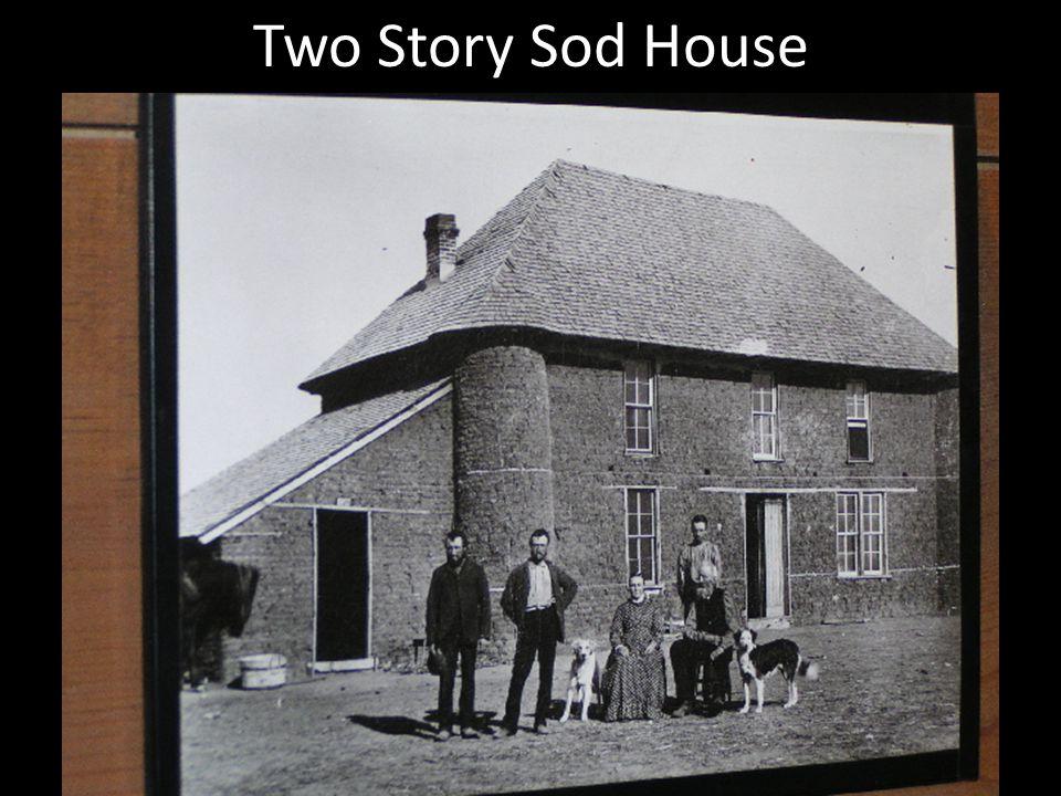 Nebraska Sod Home 1886